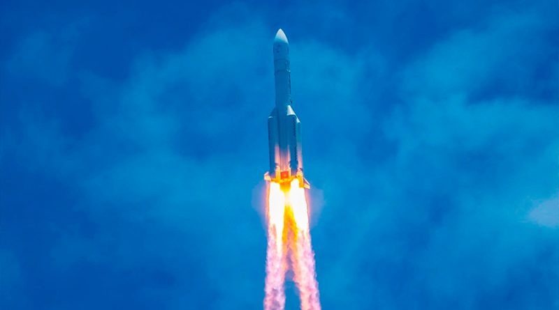 Sonda china Tianwen-1 llegará a Marte en mayo