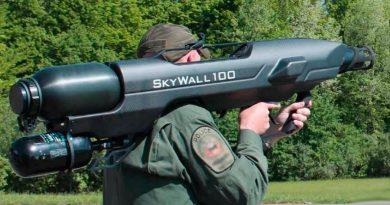 SkyWall, el terror de los drones