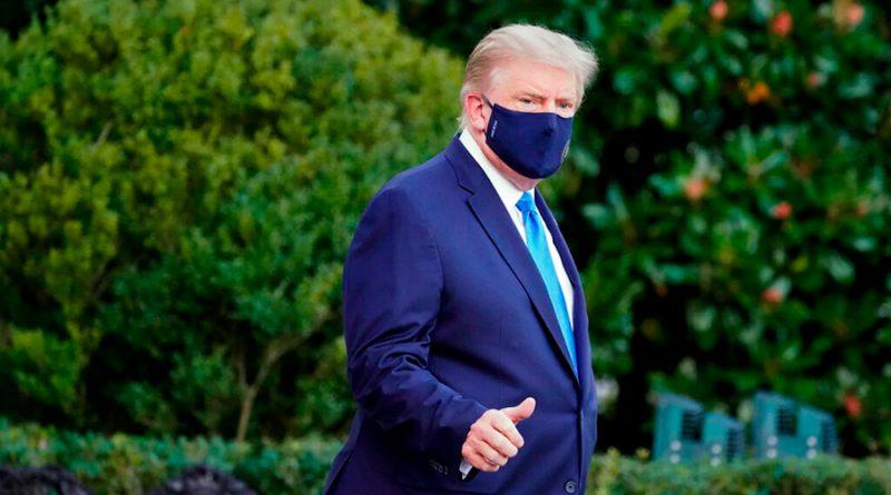 Médicos de Trump buscan frenar su infección a Covid-19 con medicinas experimentales