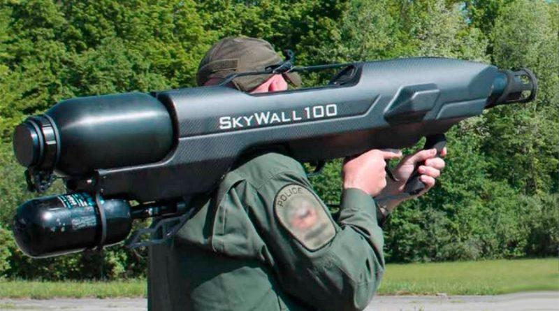 Skywall, la tecnología de red a la que temen los drones