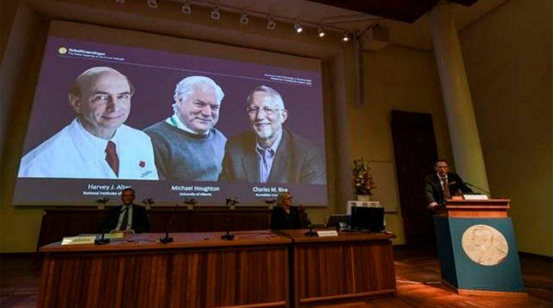Otorgan el Nobel de Medicina a tres virólogos por el descubrimiento del virus de la hepatitis C