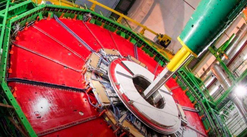 Primera evidencia de que el bosón de Higgs se descompone en dos muones