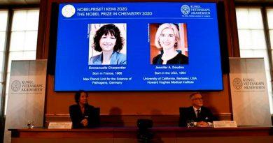Nobel de Química para las dos inventoras de las tijeras de edición genética