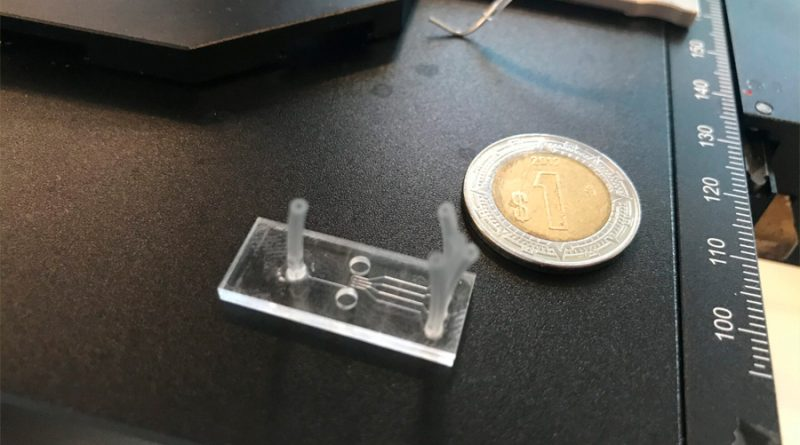 Investigadores mexicanos crean dispositivo del tamaño de una moneda para detectar Covid-19