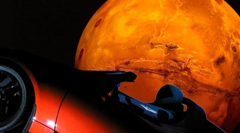 Starman y su Tesla hacen la primera aproximación a Marte