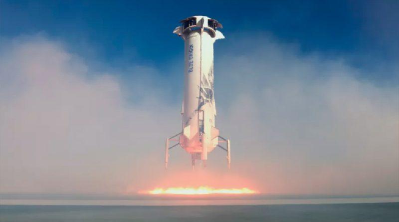 Blue Origin prueba con éxito nueva tecnología de alunizaje de la NASA