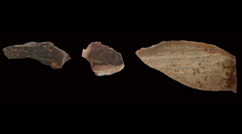 Determinan que homínidos calentaban con fuego las piedras para tallarlas