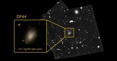 Resuelven el enigma de la extraña galaxia compuesta en un 99,99% de materia oscura