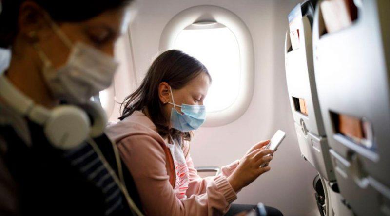 Viajar en avión en tiempos de COVID-19: la probabilidad de contagiarse es del 0.003%