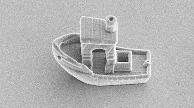 Crean el barco más pequeño de la Tierra: mide un tercio del grosor de un cabello