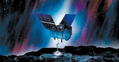 La sonda Osiris-Rex besó al asteroide Bennu en una misión perfecta