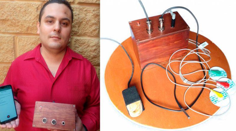 Estudiante mexicano crea dispositivo para detectar síntomas de Covid