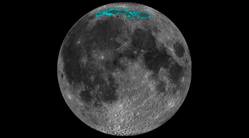 Módulo explorador chino ha recorrido 565 metros de la superficie oscura de la Luna