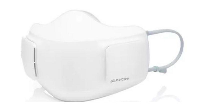 LG anuncia para fin de año una mascarilla electrónica