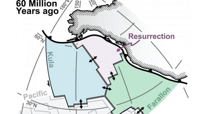 Resurrección: la misteriosa placa tectónica desaparecida, reaparece en el norte de Canadá