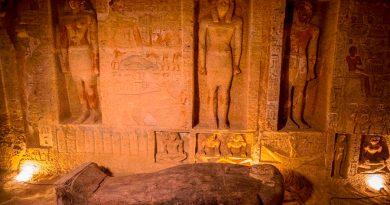 Desentierran tumba faraónica en Minya, Egipto