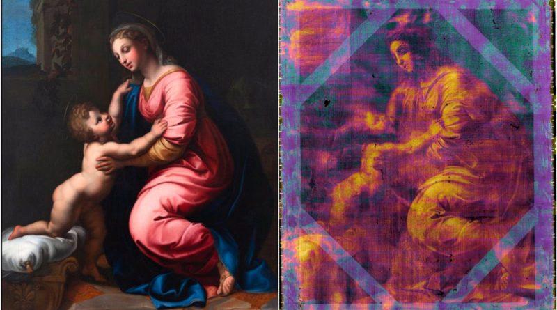 Tecnología de física de partículas confirma la autenticidad de un Rafael