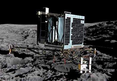 La odisea del módulo Philae sobre hielo y rocas del cometa 'Chury'
