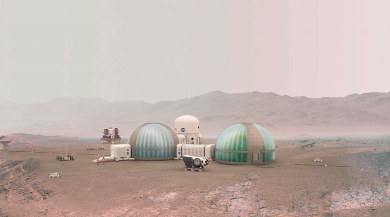 Simulan las condiciones del suelo para ayudar a crecer plantas en Marte