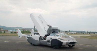 AirCar, el coche volador ya está aquí: no todo iba a ser malo en 2020