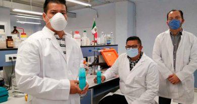 Científicos mexicanos crean polímero que, aplicado como recubrimiento, desactiva al virus del Covid-19 en superficies