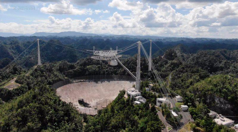 Más de 50 mil firmas piden repensar la demolición del radiotelescopio del Arecibo