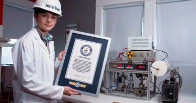 Adolescente recibe récord Guinness al lograr una fusión nuclear en su propia casa