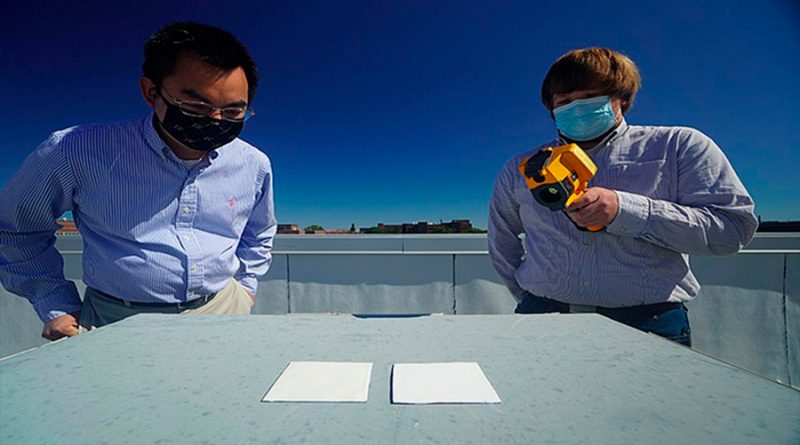 Desarrollan un tipo de pintura capaz de sustituir al sistema de aire acondicionado