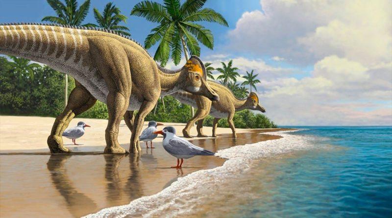 Publican primera investigación en sugerir que los dinosaurios cruzaron el océano