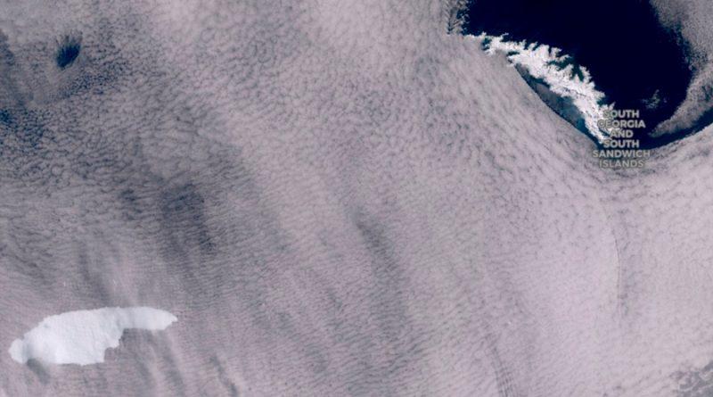 Alerta por iceberg que se dirige a isla de la Antártida