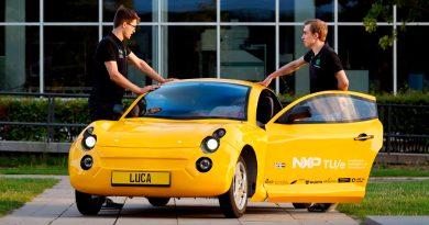 Luca: un coche fabricado con plásticos y aluminio reciclados