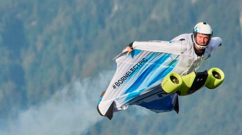 Conoce el primer traje de alas eléctrico del mundo y una nueva modalidad de deporte aún más extrema