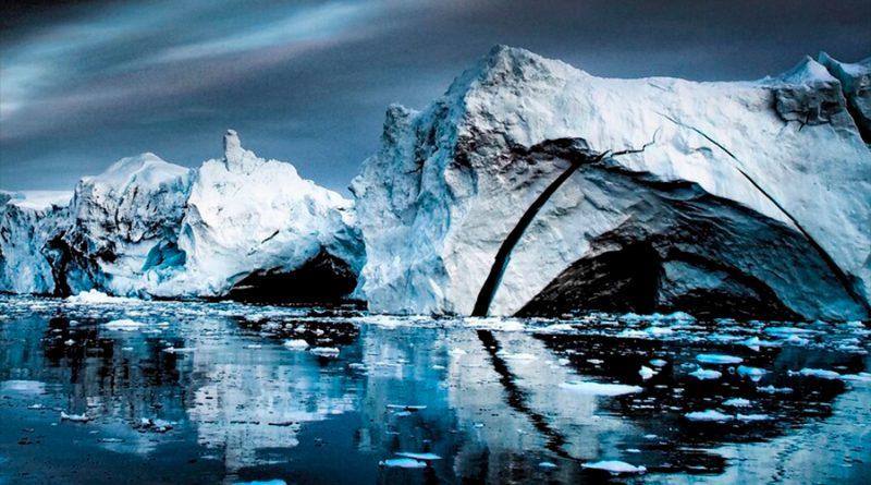 Detectan un posible río de mil kilómetros de largo por debajo de la capa de hielo de Groenlandia
