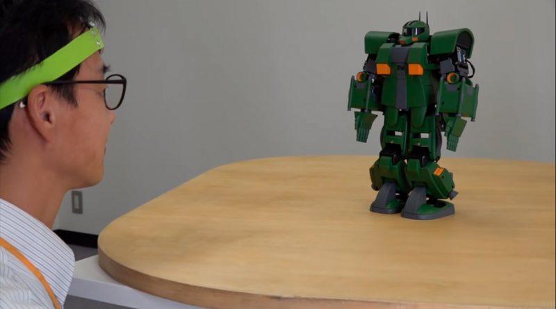Científicos desarrollan un robot Gundam que se controla con la mente
