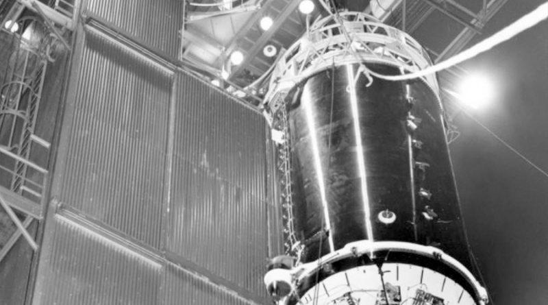 La Tierra puede haber capturado un cohete de la década de 1960