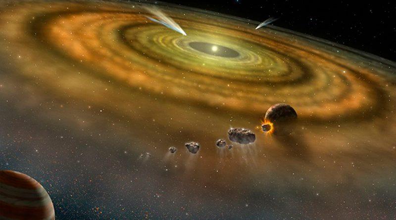 El Sistema Solar se formó en menos de 200 mil años