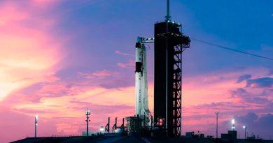 Debido a fuertes vientos, aplazan lanzamiento del SpaceX hacia la EEI