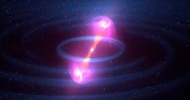Detectan raro nacimiento de un magnetar en una colisión colosal
