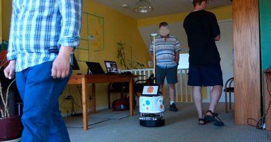 Crean robots que reconocen y asisten a los enfermos
