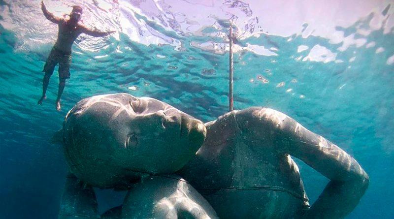 La historia de Ocean Atlas, la estatua submarina más grande del mundo