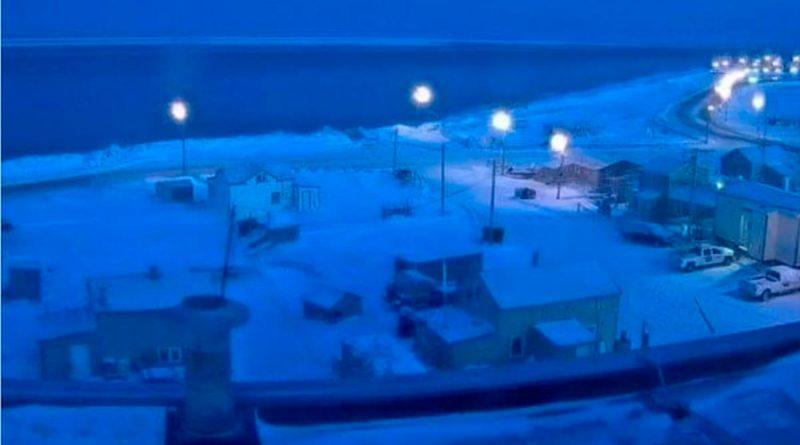 """Da inicio la """"noche polar"""" en Alaska; el Sol saldrá hasta el 2021"""