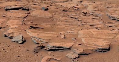 Huellas geológicas de una gran inundación en el ecuador de Marte