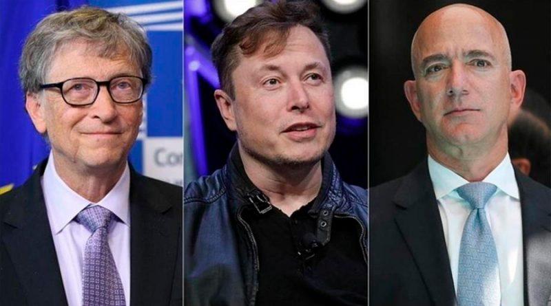Siete de las 10 personas más ricas del mundo son genios de la tecnología