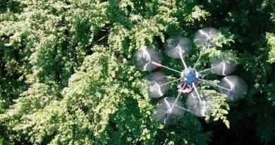 Un dron inteligente encuentra personas desaparecidas en la naturaleza
