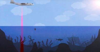 Crean sónar aerotransportado para ver el fondo marino como tierra firme