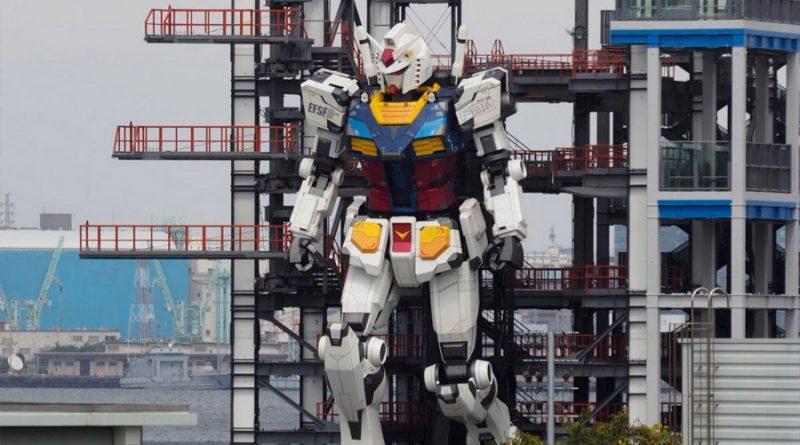 El robot Gundam gigante de Japón hace una asombrosa exhibición de movilidad