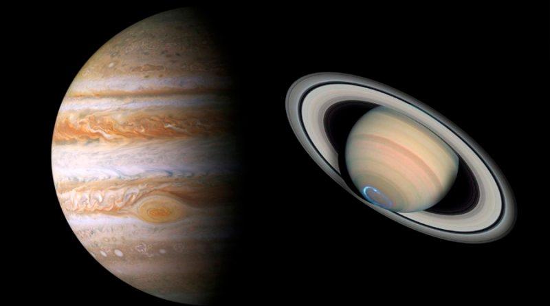 ¡Increíble! En diciembre, Júpiter y Saturno se verán como un planeta doble