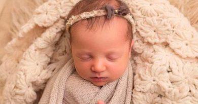 Nace Molly, una bebé de embrión congelado en 1992
