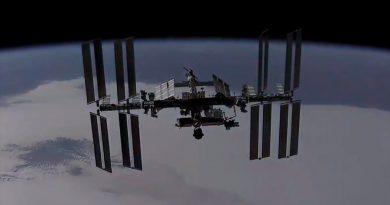 La Estación Espacial desde una nave Dragon en aproximación