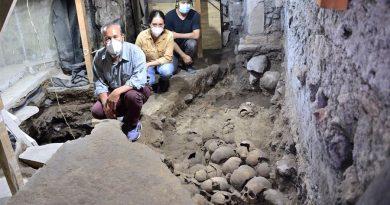 Hallazgo en las entrañas de Tenochtitlán: hallan 119 cráneos del Huei Tzompantli en el Templo Mayor